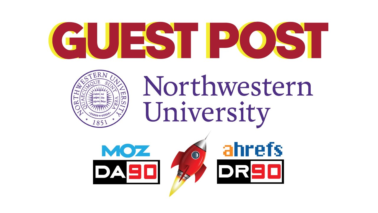 i will publish a guest post on northwestern edu with dofollow link da90