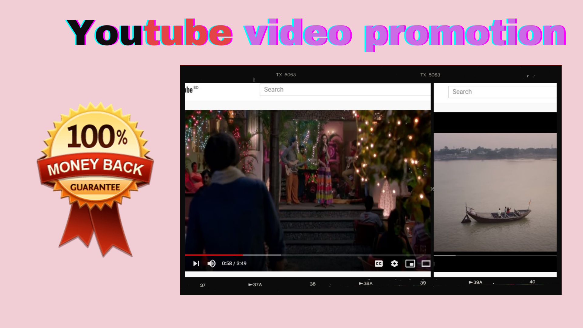 I will do youtube video promotion for google top ranking