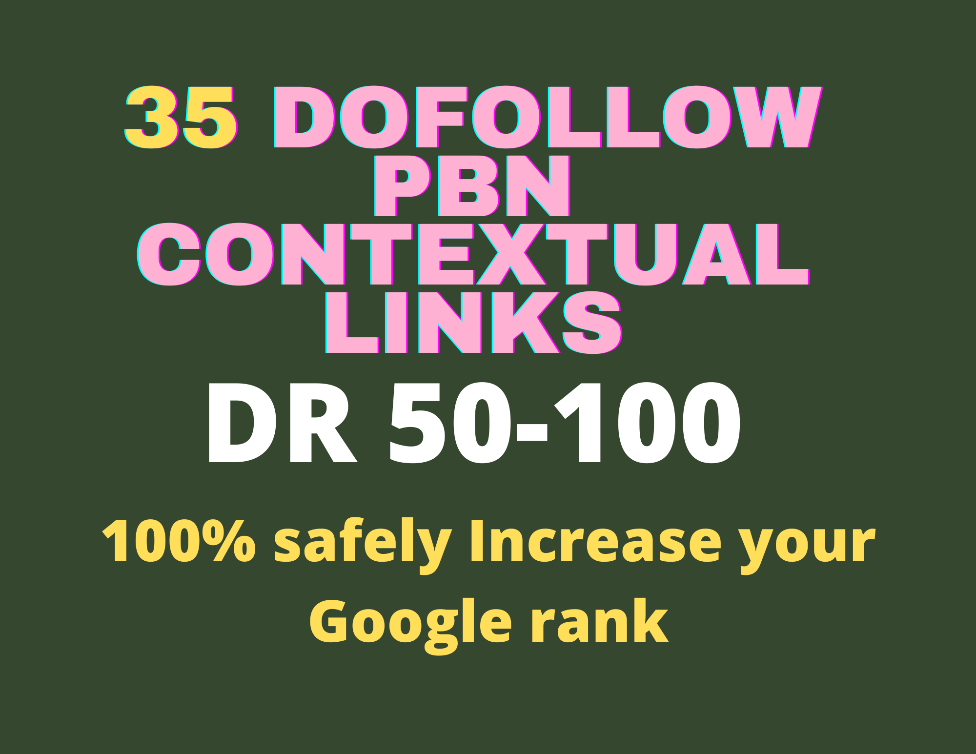 Dofollow 35 PBNs Backlinks DR 100 to 50 - Definitely skyrocket your Google Ranking