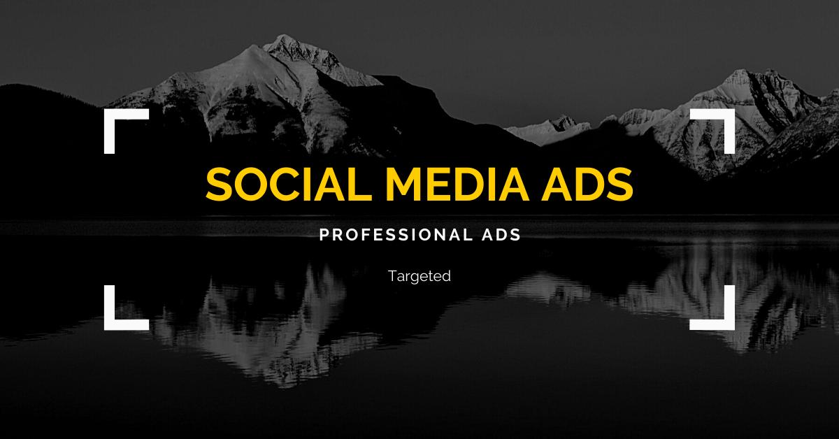 professional social media ads & social media marketing