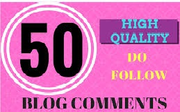 i will provide 50 dofollow blog comments
