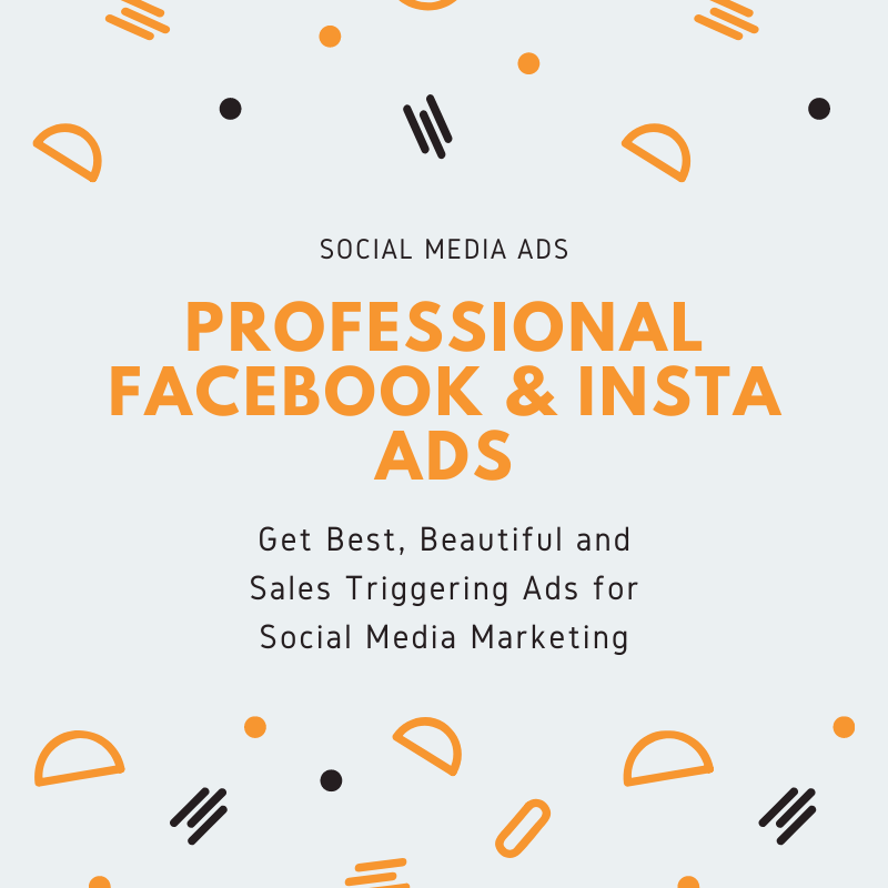 I will Create Eye Catching Facebook and Instagram ads For You