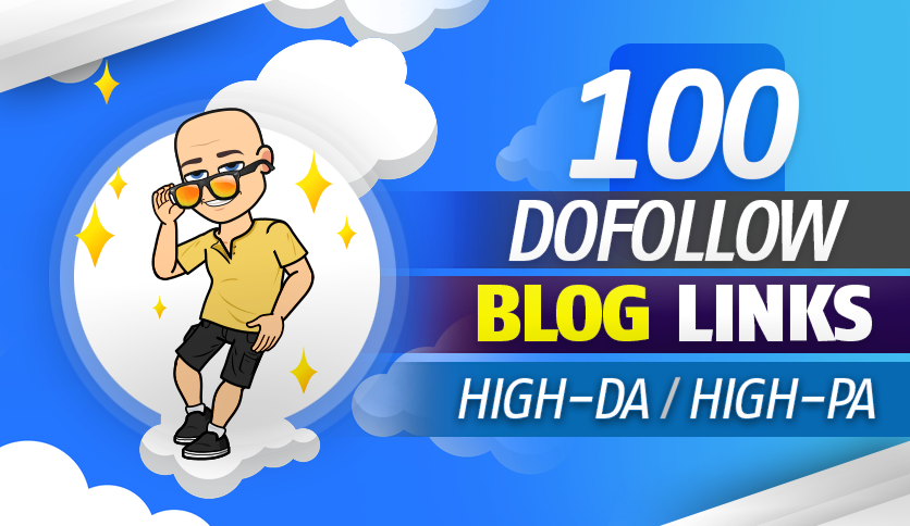 I will 100 manually blog comment unique domain SEO backlinks