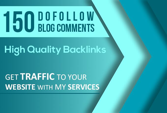 I will submit 150 blog comments offpage top quality backlinks