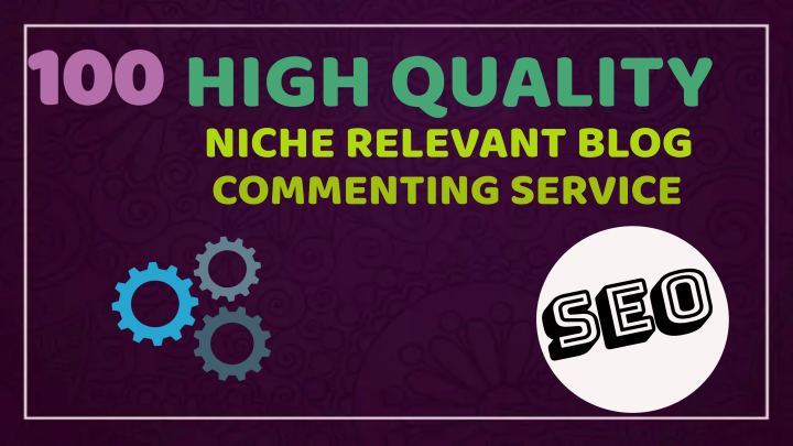 I will do 100 niche relevant blog comment backlinks top quality