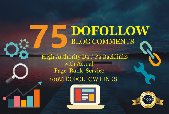 I will 75 powerfull dofollow blog comments seo link building backlinks google ranking