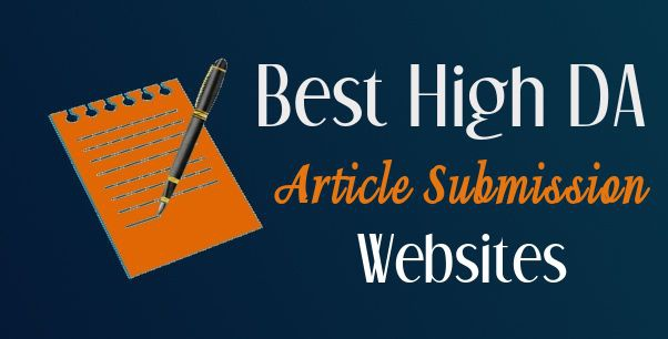 I will 20 article submission on high da websites for SEO