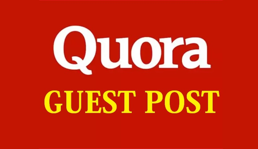 I will published a guest post on Quora. com PA 42,  DA 93,  TF 41,  CF 58