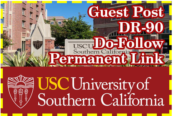 I will make guest post on Usc Edu blog Da 92