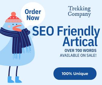 SEO Optimization Google Ranking Trekking Company Article In 3 Days