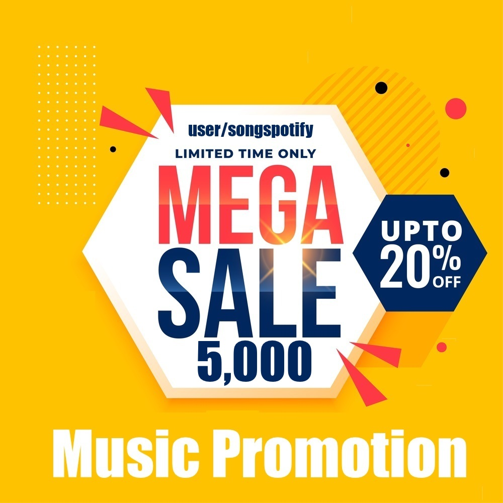 Five Thousand Real Safe Music Promotion
