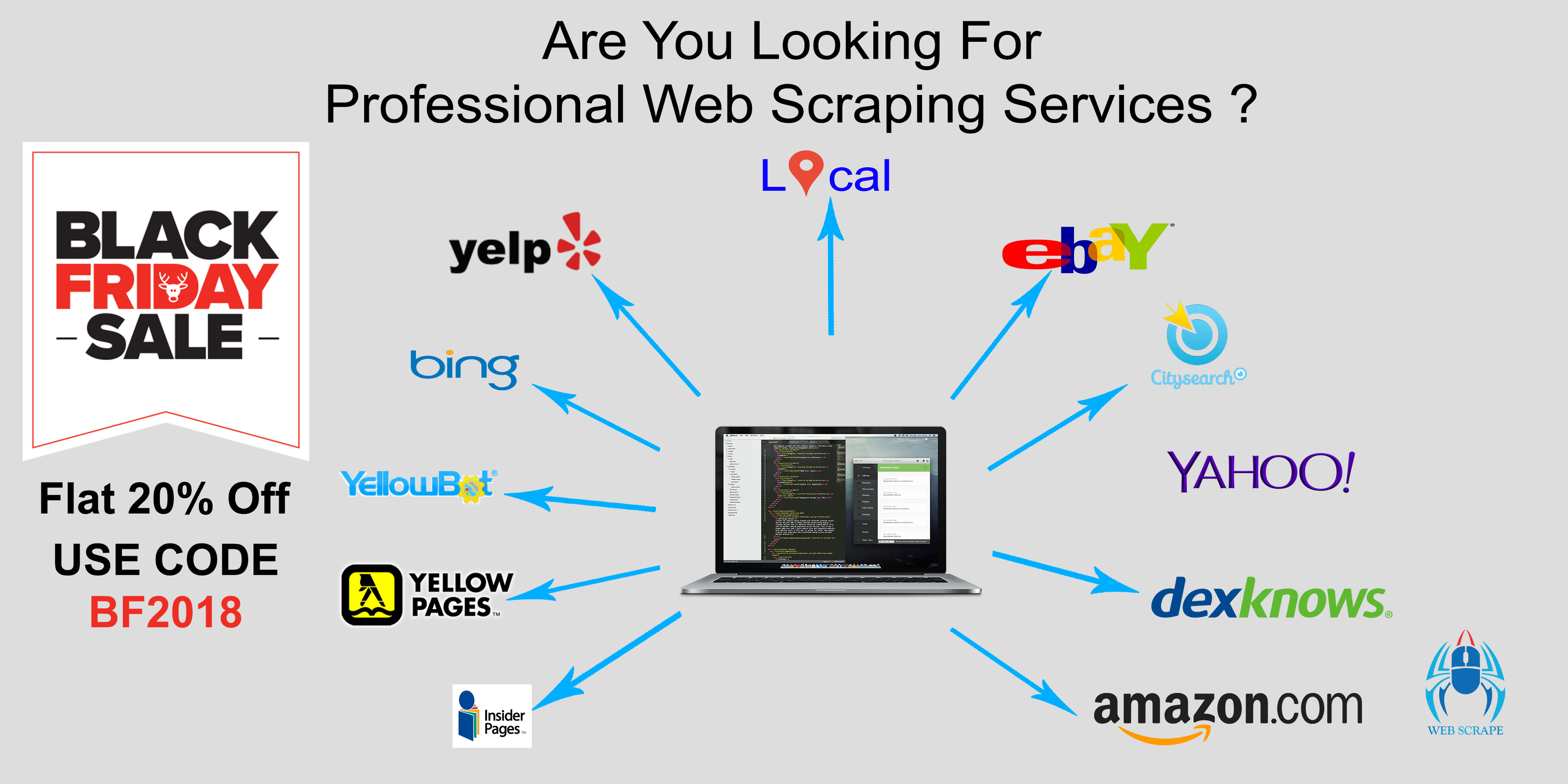 I will do web scraping,  automation,  data extraction and data mining