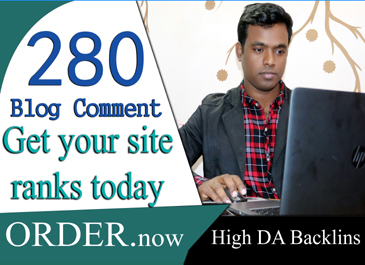 do 20 high quality do follow blog comments backlinks