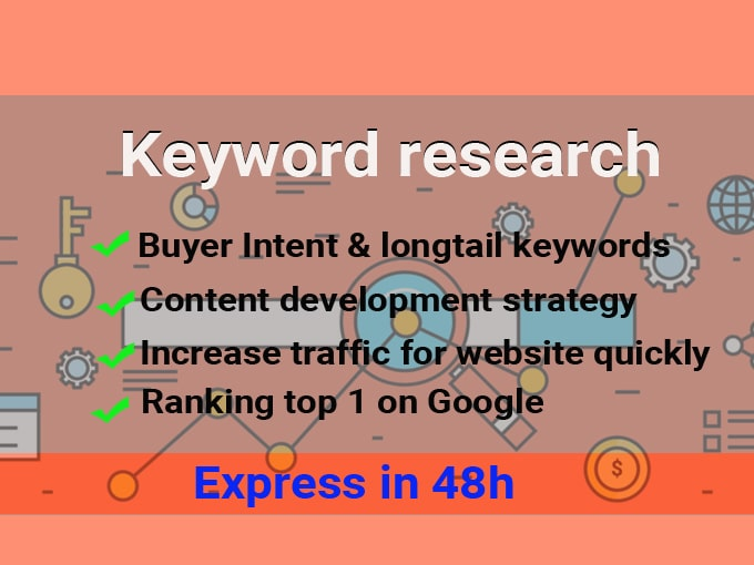 I will research 200+ keywords,  analyze competition,  content development strategy express