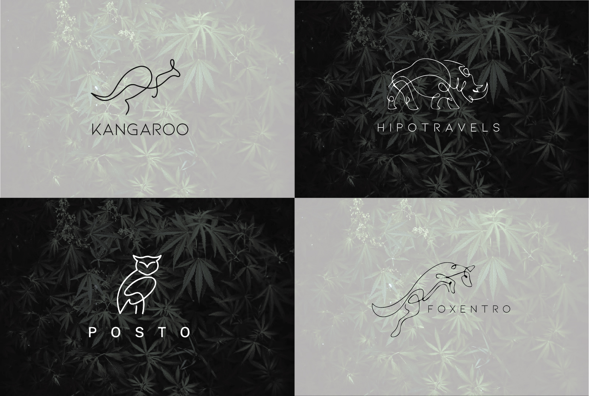 I will do modern minimalist luxury business logo design