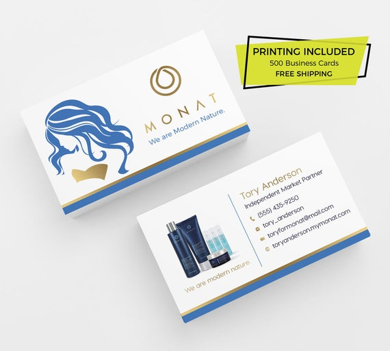 Horizontal and Vertical Business Card Desingn