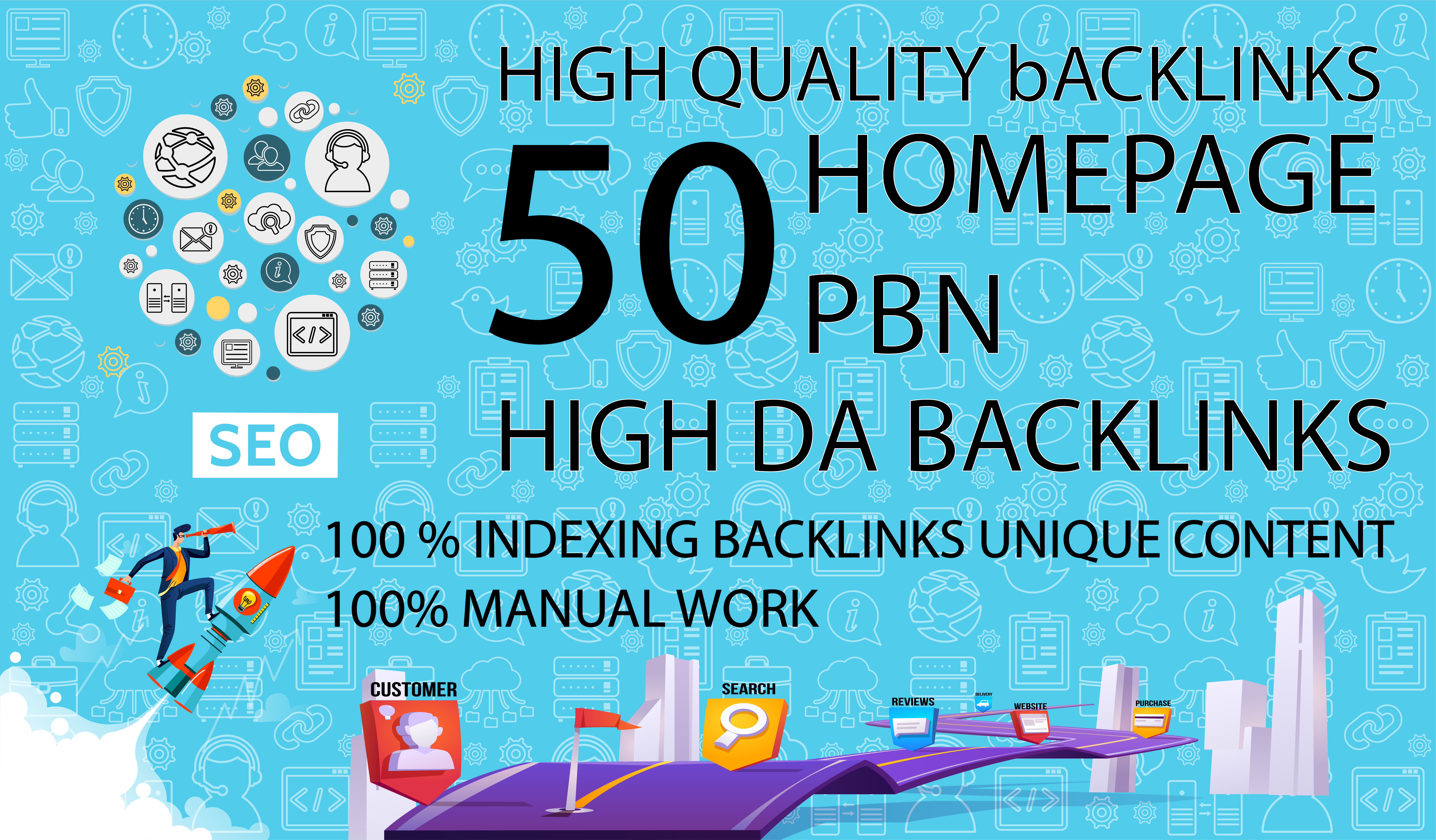 Get 50 Dofollow Homepage PBN Backlinks On High DA 25+