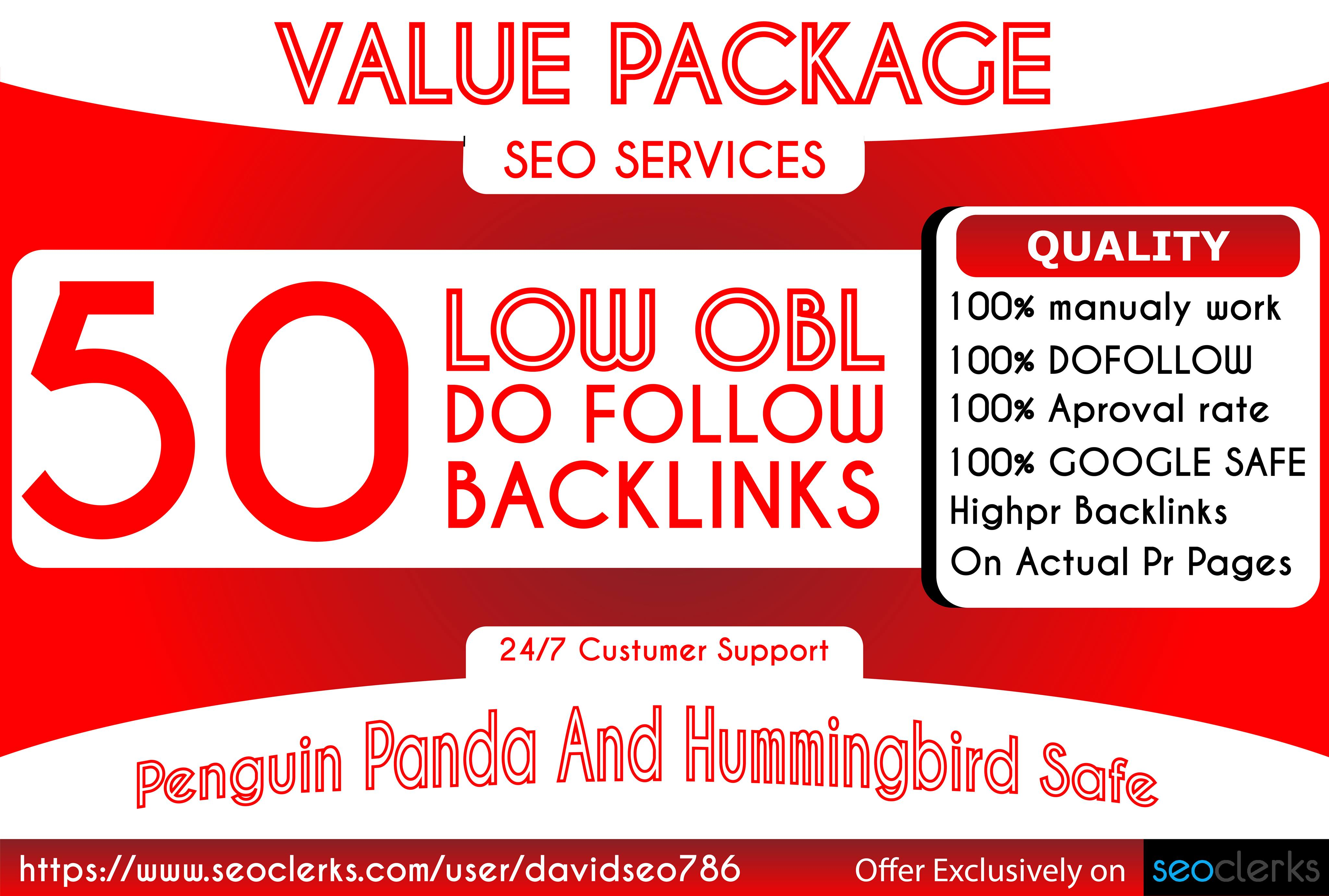I will Make 50 unqiue domain blog comment backlinks in da 50+