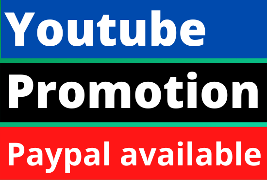 YouTube fast and organic promotion