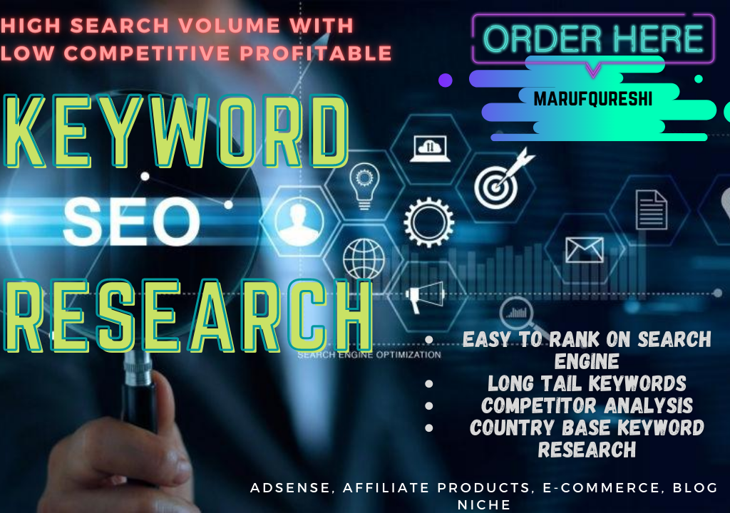 Long Tail Profitable SEO Keyword Research On Your Any Niche Or Website