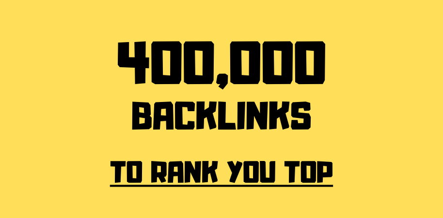 I will do 400,000 gsa, ser, quality, backlinks for seo