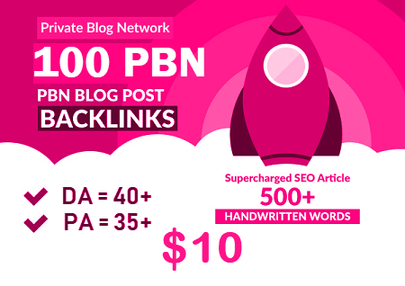 100 Premium Homepage Web 2.0 PBN Service Manual Creating High Quality SEO Do-follow Backlinks