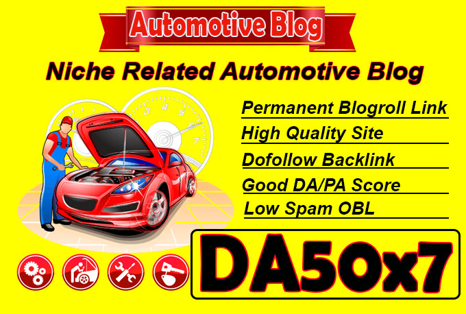 give you link da50x7 site Automotive blogroll permanent