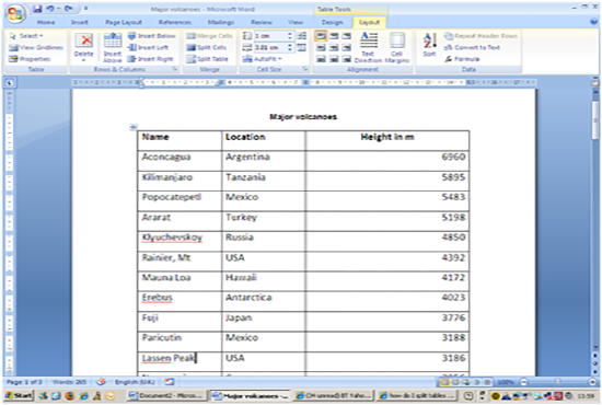 I will do any type of data entry in MS word