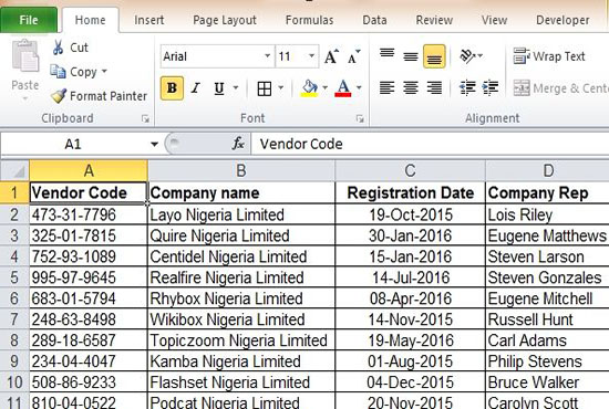 I will do fast excel data entry work for you