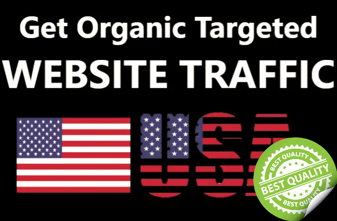 I will drive 10 000 USA Targeted Visitors
