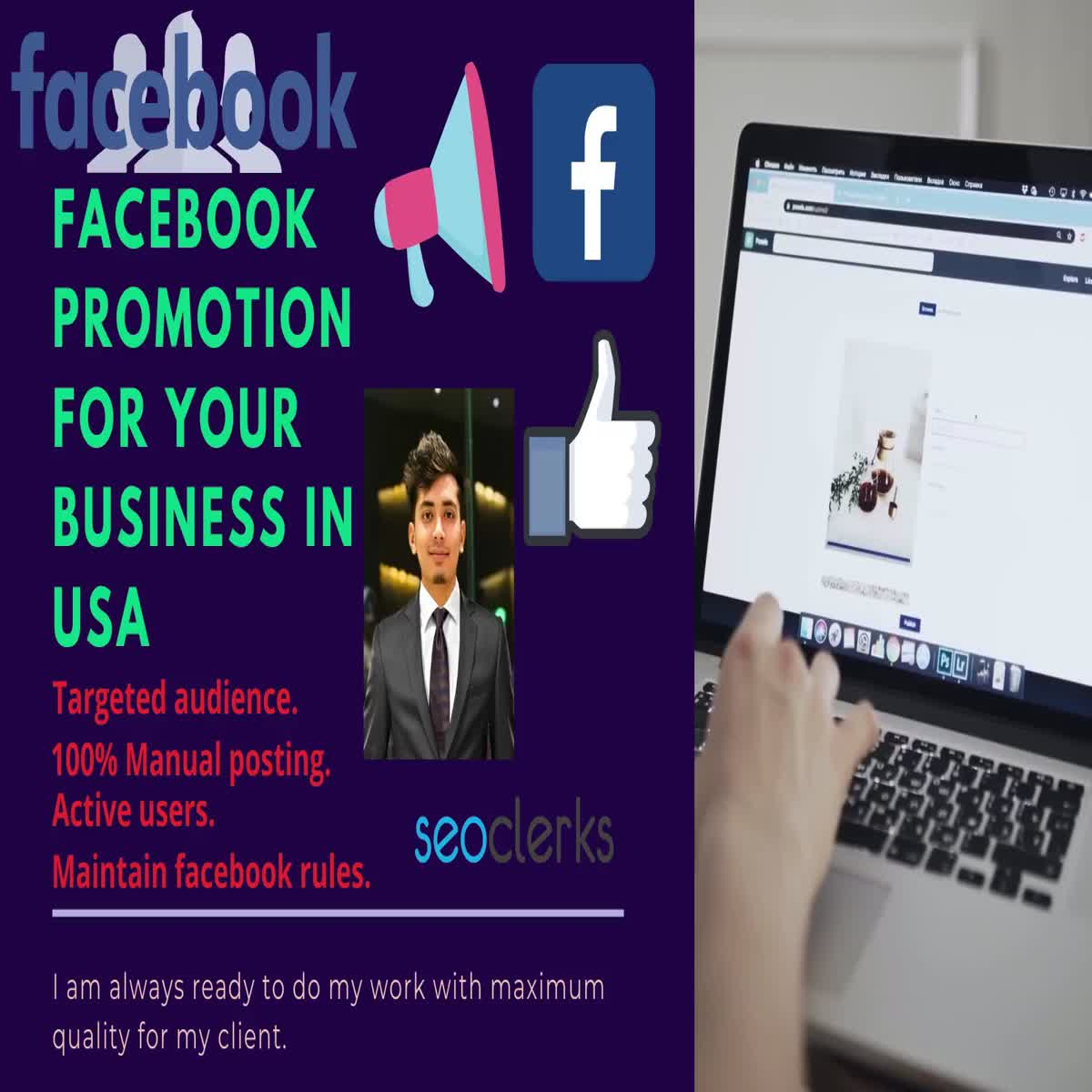 I Will Do Promotion for Your Business in Social Media Platform in USA, UK, Europe, Asia