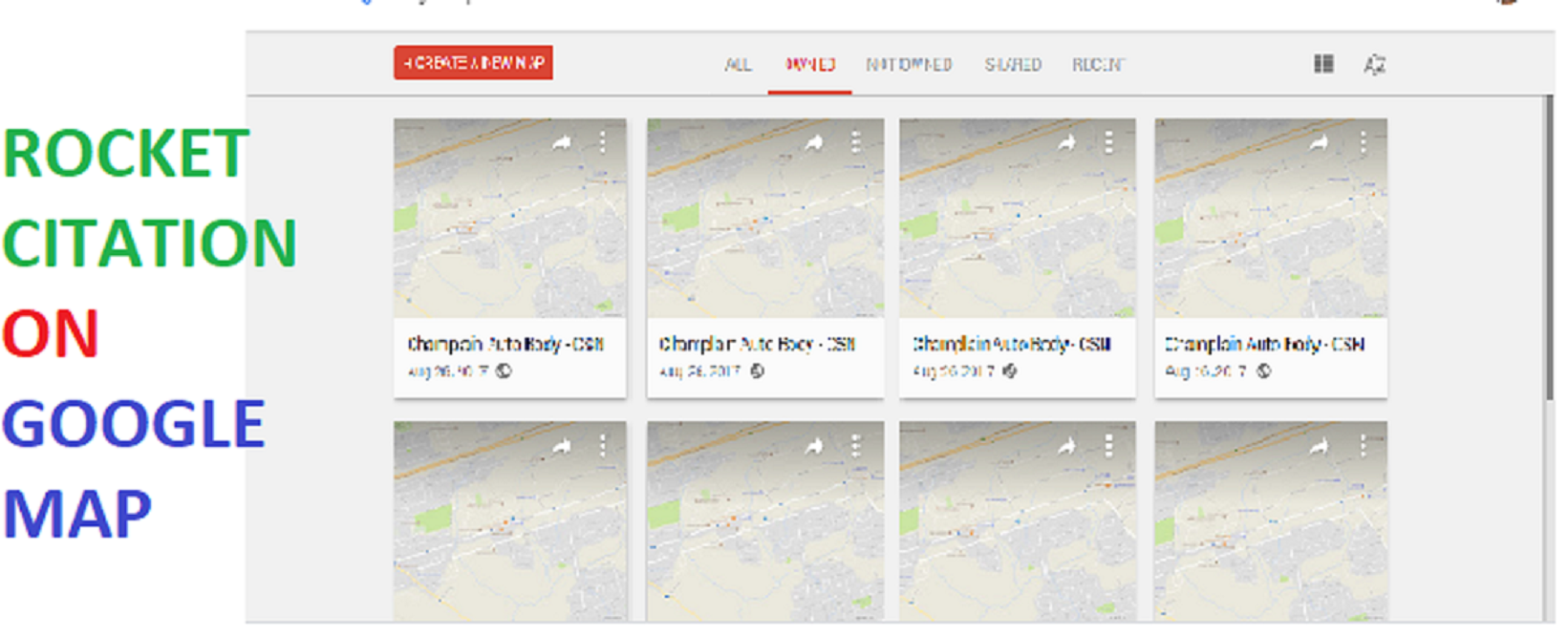 I will do manual google map citation to spread your local business.