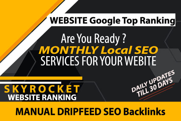 Best Monthly Local SEO Service High Ranking in Google