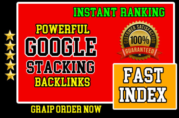 Advanced Google Entity Stacking Authority Permanent SEO Backlinks
