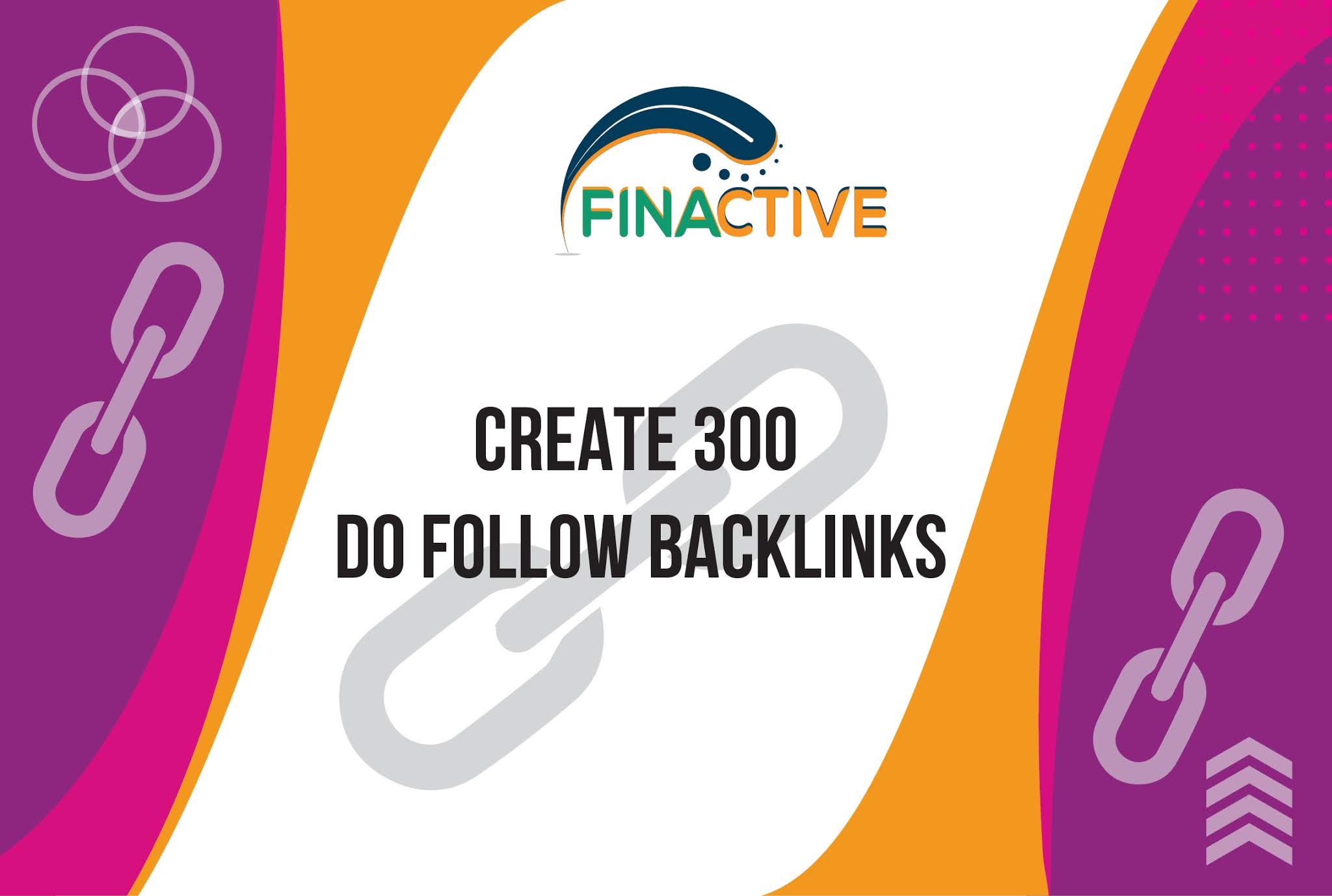 We will create 300 do-follow backlinks for your website