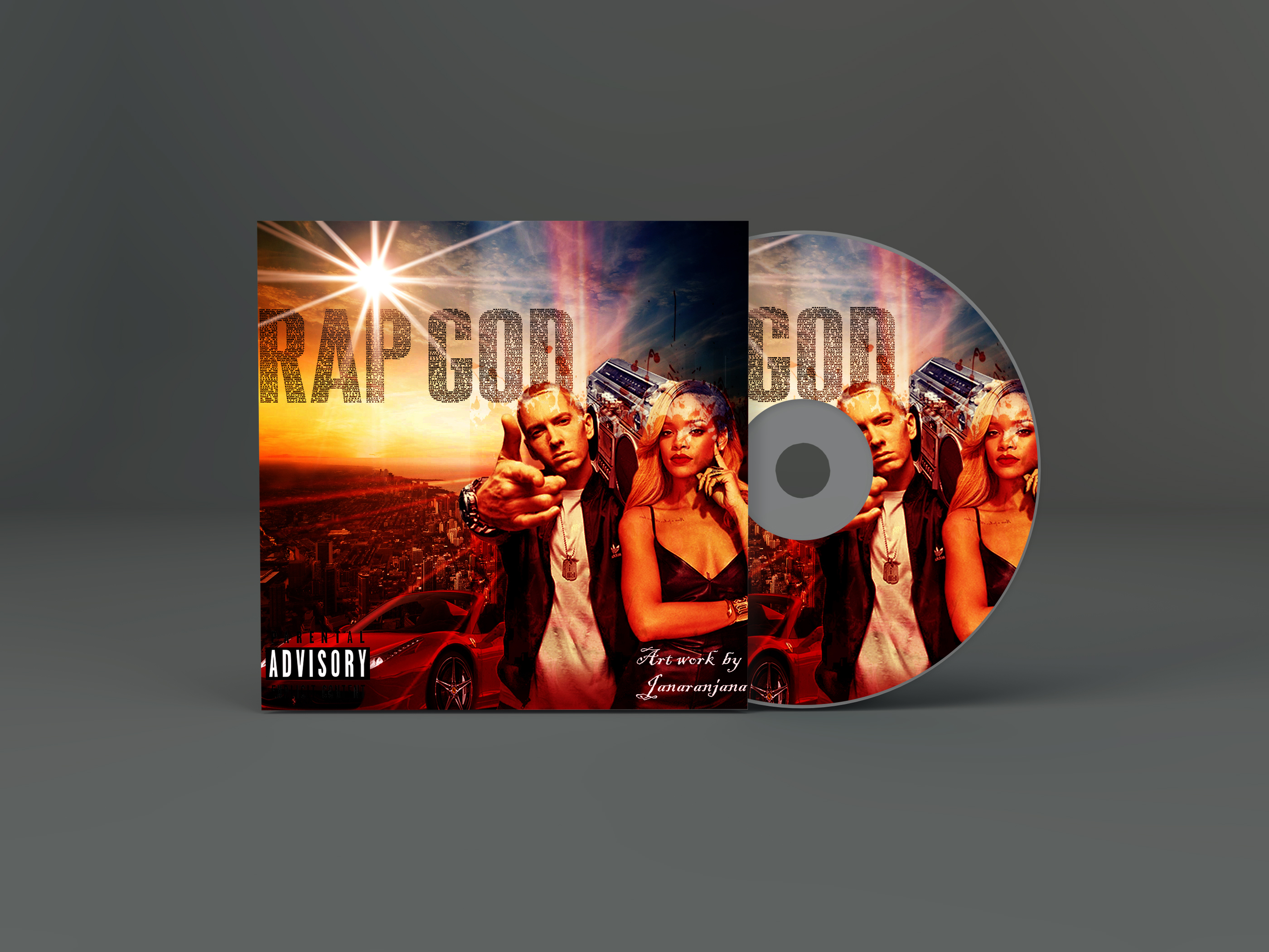 i can design quality mixtape cover or album cd cover