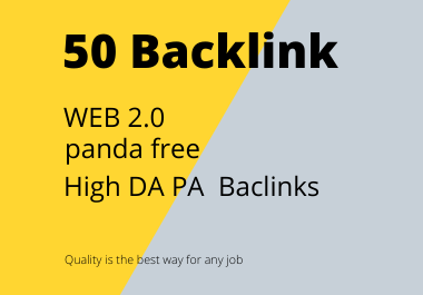 I will promote 50 backlink for web2.0