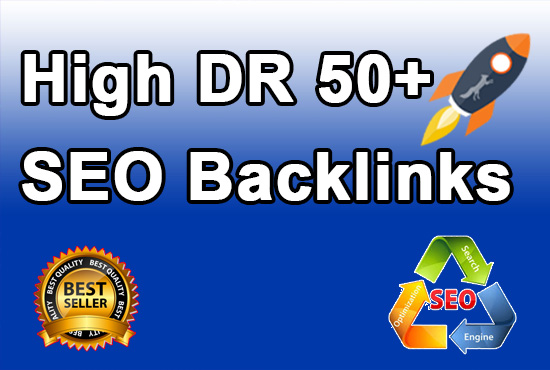 I will do DR 50 plus homepage backlinks manually permanent