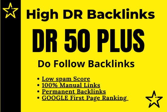 Build 10 PBNs Dr 50+ Homepage DoFollow Backlinks