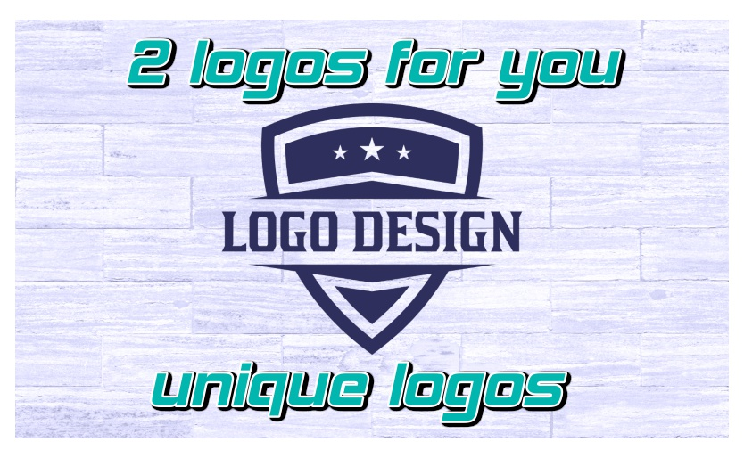2 ready-made unique logos for you