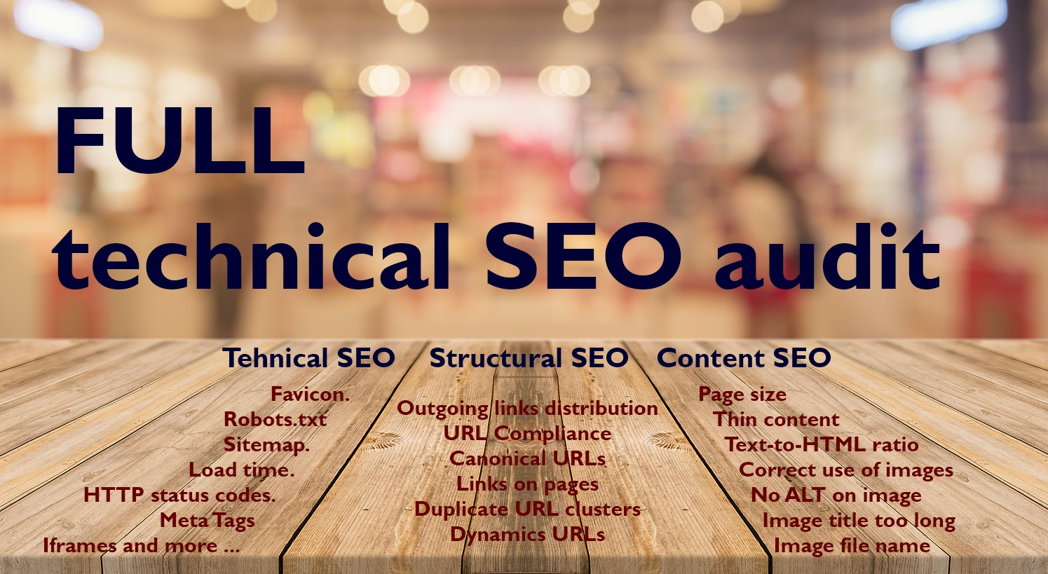 Full SEO Audit Report with Recommendations