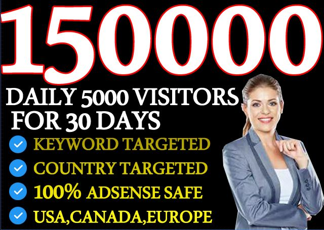 I will Drive Keyword Targeted and High quality traffic