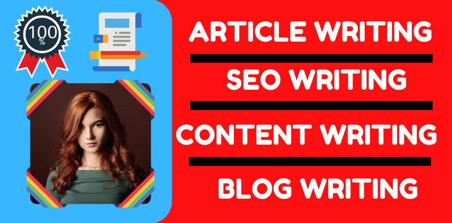 I Will Do Any Type Of Writing , SEO , Content , Article , Blog - 500 Words