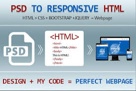 I will convert xd to html,  psd to html,  sketch to html responsive