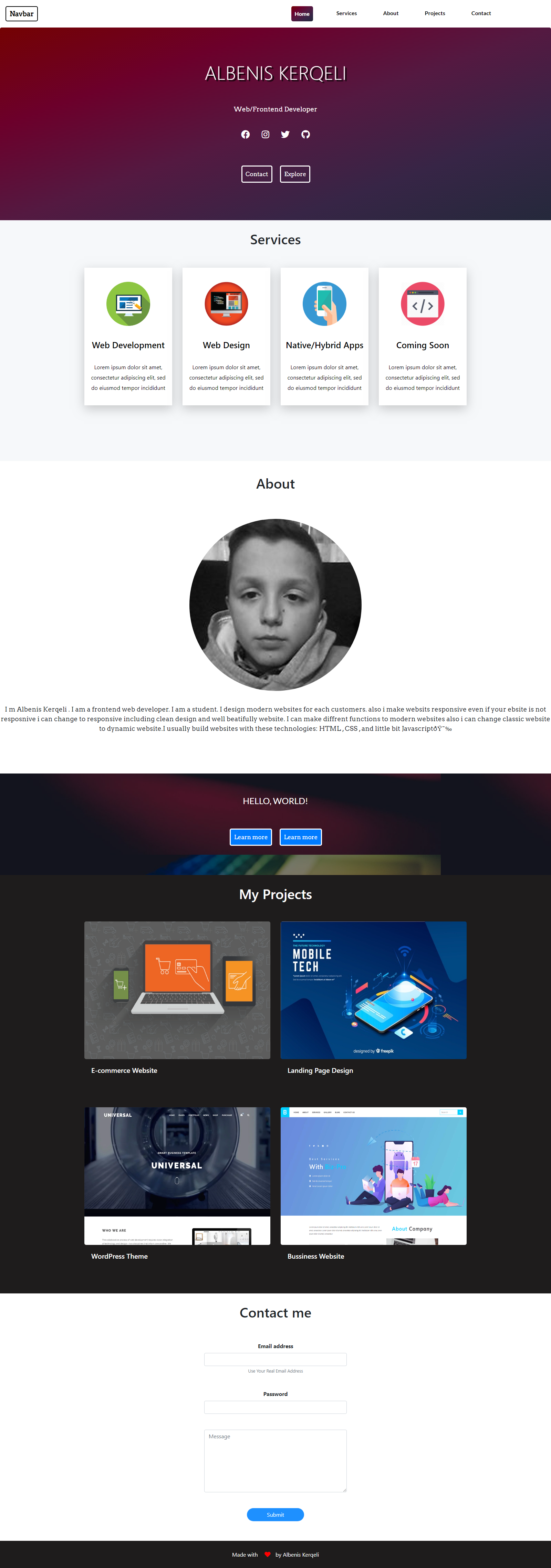 I will create fully responsive HTML/CSS website for a low price
