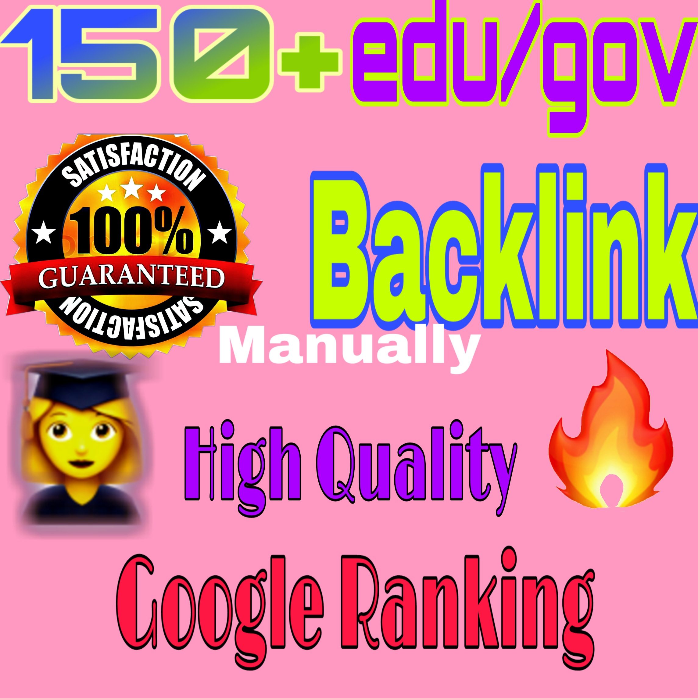 Get 150+ HQ edu. gov. link building & backlinks for Adult site