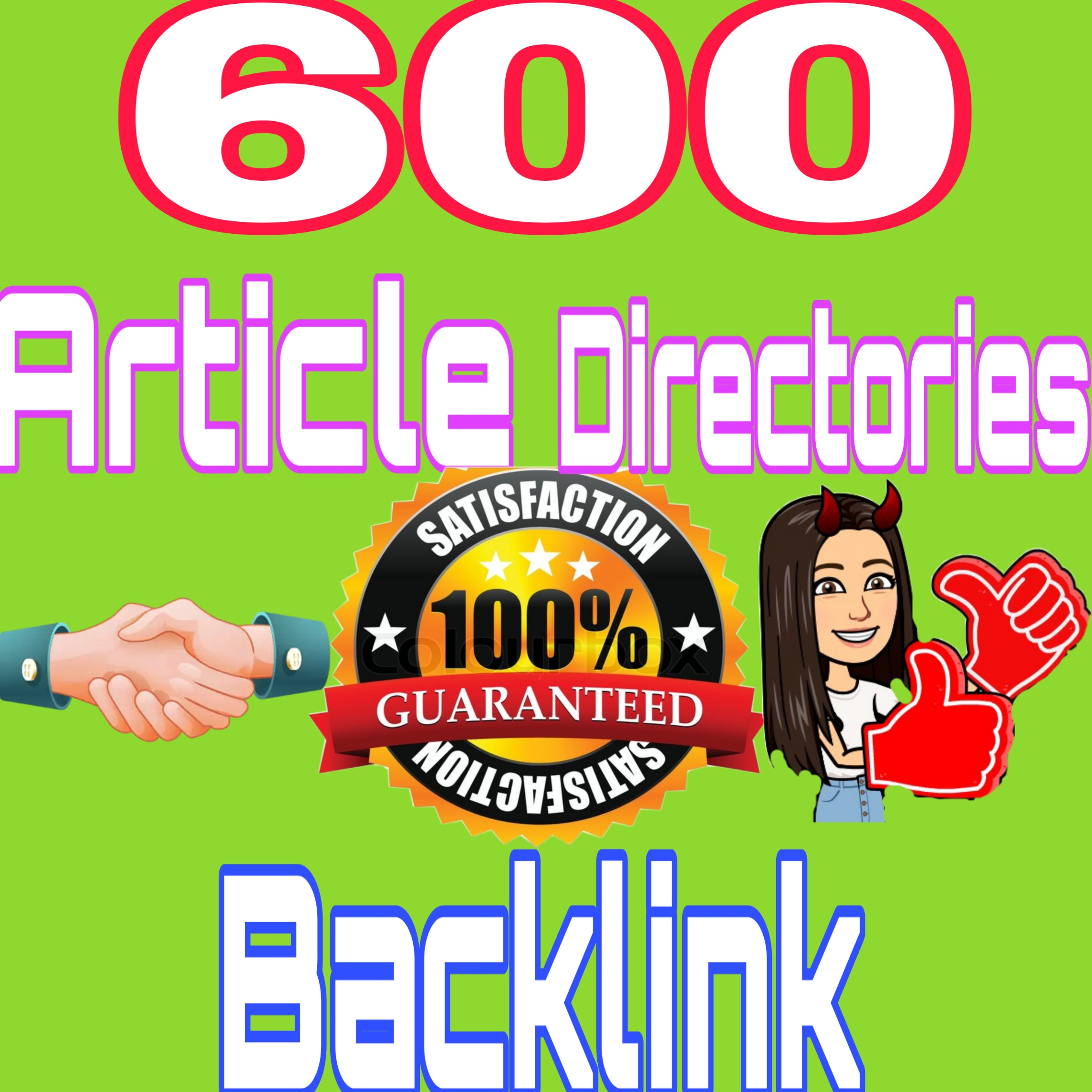 Build 600 Article Directories Backlinks With Login Details