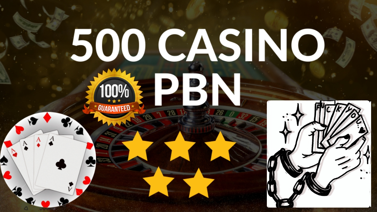 Provide Casino poker Judi bola 500+ HQ pbn backlink Rank on Google.