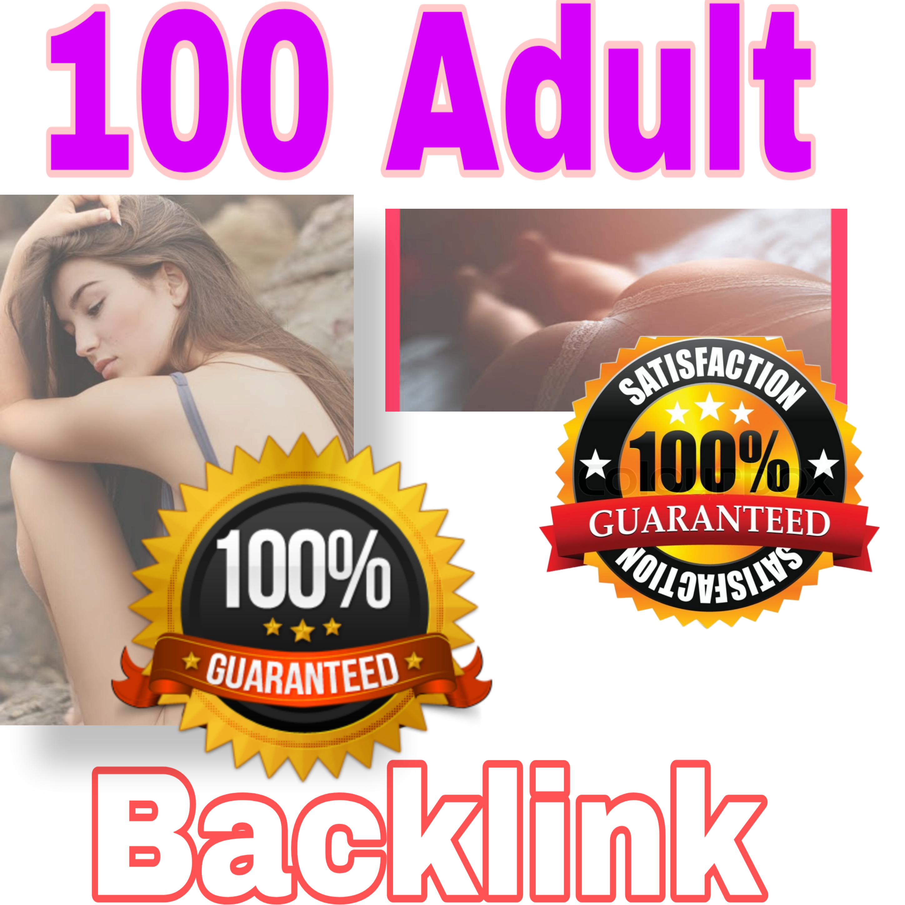 I will do 100+adult backlinks up to pr7
