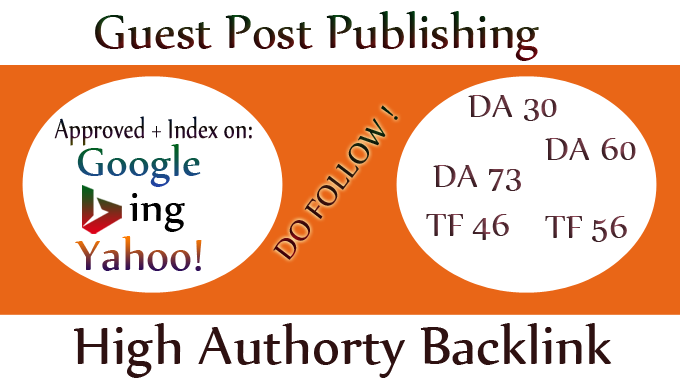 I will provide youhigh quality guest post pbn backlinks